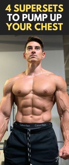 4 Supersets to Pump up your Chest Chest Workout For Men, Chest Workouts, Gym Workouts, Chest Exercises, Wellness Fitness, Fitness Tips, Fitness Motivation, Muscle Fitness, Mens Fitness