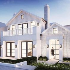 Awesome 50 Incredibly Modern Farmhouse Home Exterior Design Ideas. More at https://50homedesign.com/2018/03/16/50-incredibly-modern-farmhouse-home-exterior-design-ideas/