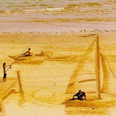 joy Jamie Harkins 3D sand art