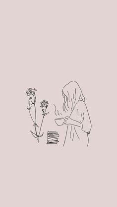 ) deine eigenen Bilder und Videos auf We Heart It drawing doodles Image about art in ᴍʏ ɪᴍᴀɢᴇ ᴜᴘʟᴏᴀᴅꜱ by Alana - Mae Pop Design, Design Lab, Wallpaper Iphone Cute, Wallpaper Quotes, Line Drawing, Drawing Sketches, Drawing Ideas, Flowers Wallpaper, Trending Paint Colors