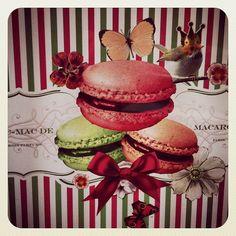 #Macarons dibujados por cortesía de Jordi Roca ;)