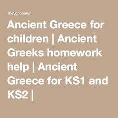 Primary homework help greece