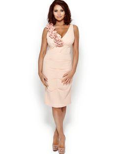 Amy Childs Melissa Midi Corsage Dress