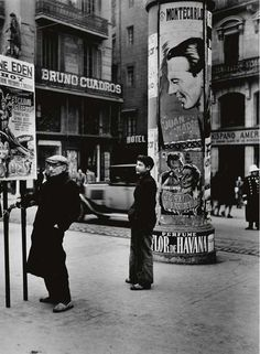 Spain. Madrid, 1949 // by  Dmitri Kessel (Ukrainian, 1902 - 1995)