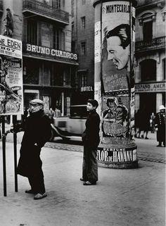 Madrid, 1949, Dmitri Kessel. Ukrainian (1902 - 1995)