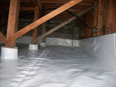 High moisture content in a crawl space in Michigan is the dominating factor when it comes to structure damage, odor, wood boring insects a.