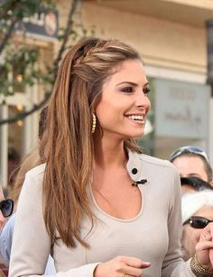 Casual French Braid Hairstyle For Long Hair