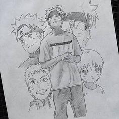 Naruto Uzumaki Art, Naruto Vs Sasuke, Naruto Fan Art, Wallpaper Naruto Shippuden, Boruto, Sasuke Drawing, Naruto Sketch Drawing, Naruto Drawings, Anime Sketch