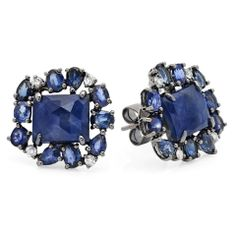 It's the time of year to get glitzed and glammed for holiday parties!!  These new CB Luxe sapphires & diamond earrings are the perfect accessory this holiday season!   $3900 purchase@cbluxe.com