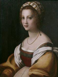 Author Sarto, Andrea del Title Portrait of a Woman Chronology Ca. 1514 Museo Nacional del Prado: On-line gallery
