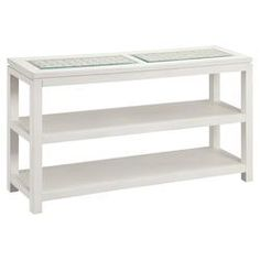 Pemba Console Table in White