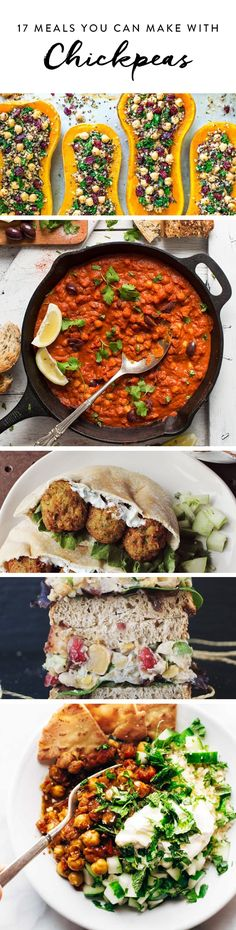 17 Meals You Can Make with a Can of Chickpeas via @PureWow