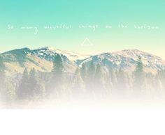 good horizons :)