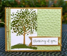 Krystal's Cards: UPDATE!! March Online Stamp Class - Sheltering Tree Stampin' Up!
