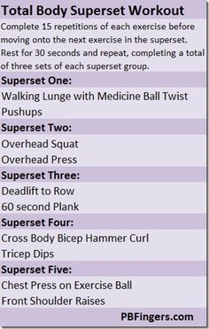 total body superset workout werkin-on-my-fitness