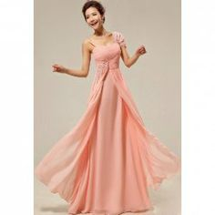 $64.11 Fashionable Sweetheart Neck Beads Sequin Ruffle Decorated Evening Dress For Women