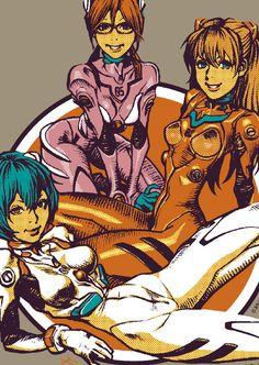 EVANGELION × Rockin'Jelly Bean第三弾 EVANGELION × Rockin'Jelly Beanコラボの最新作が本日より発売開始となりました! 今秋ついに公開される「ヱヴァンゲリヲン新劇場版:Q」により再び日本中がエヴァブームに包まれる中、今回は「綾波レイ」「式波・アスカ・ラングレー」「真希波・マリ・イラストリアス」の3人のキャラが描かれています。 また、以前発売されていたアスカ、レイ、マリの三人のTシャツも再入荷しておりますので、こちらも是非よろしくお願いします。 EROSTIKAにて絶賛販売中!!! http://goo.gl/GBHnI