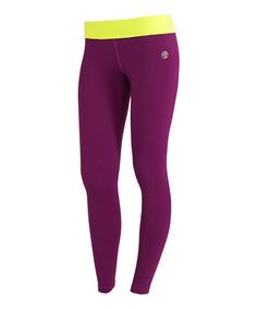 Take a look at this Plum Strut Leggings by Zumba® on #zulily today!
