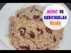 Moro de habichuelas rojas (Dominicano) | Cocinando con Ros Emely