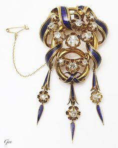 Pin on ジュエリー Art Nouveau Jewelry, Jewelry Art, Cute Jewelry, Jewelry Accessories, Jewelry Design, Enamel Jewelry, Antique Jewelry, Vintage Jewelry, Fantasy Jewelry