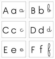 ID en vrac pour l'école: Cartes alphabet