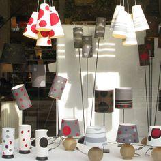 Abat-jour à Paris, Boutique Abat jour Week, vente luminaire, Applique murale, Suspension, Lampe.