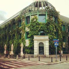 Biblioteka Uniwersytecka in Warszawa, University of Warsaw rooftop garden - must visit!