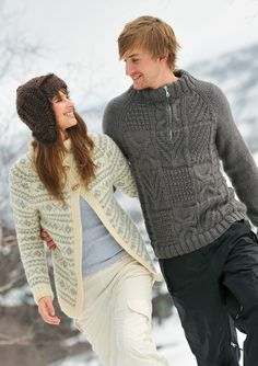 Modell Til Fjells 1011 Sweater Cardigan, Men Sweater, Creative Knitting, How To Purl Knit, Knit Crochet, Pullover, Mom, Pattern, Sweaters