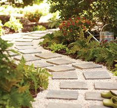 home depot paver walkway.. Love love love this!