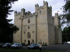 Langley Castle is a restored medieval tower house, now operated as an hotel, situated in the village of Langley in the valley of the River South Tyne some 5 km south of Haydon Bridge, Northumberland, England.