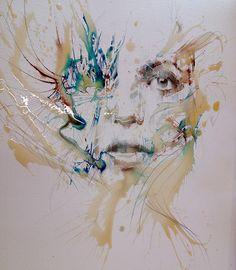 https://www.behance.net/gallery/22937665/Portraits-in-Ink-and-Tea-London-Art-Fair-2015