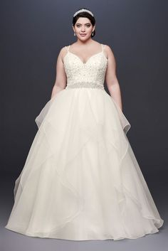 92d15f2d2 10971056 - Garza Plus Size Wedding Dress with Double Straps Formal Dresses  For Weddings