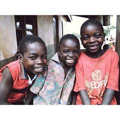 Sweet kids we met in Malawi. Their smiles give us great joy!