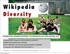 wikipedia-diversity-25097396 by Ilona Buchem via Slideshare