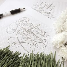 Calligraphy by Anna Liepina  #process  #факты  #fact #facts #calligraphy #эскиз #flourish #moderncalligraphy  #каллиграфия