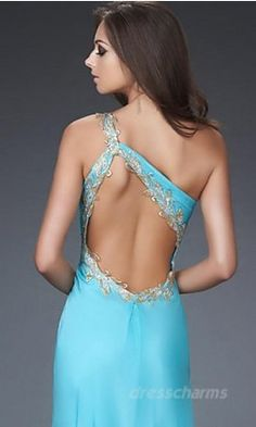 The most important part of a prom dress for me is definitely the back if it ain't pretty I ain't wearing! Lol