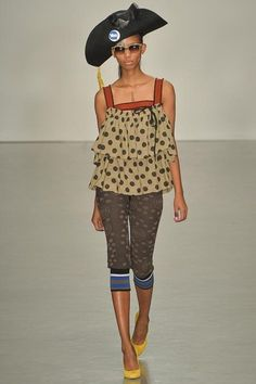 London Fashion Week Day 3 Vivienne Westwood Red Label Spring/Summer 2015  Ready to wear  14 September 2014