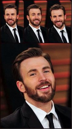 Love the hair with that beard! It's just....❤️