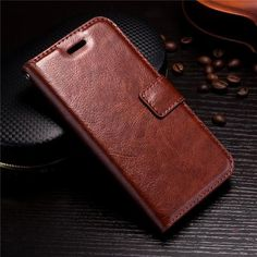 iPhone X Flip PU Leather Wallet Case With Card Holder - 7 Colors