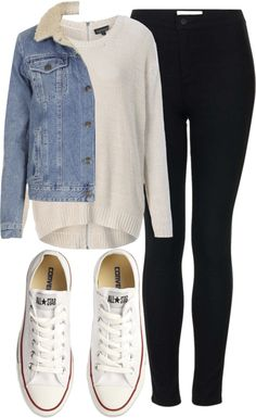 Untitled #4377 by florencia95 featuring converse shoes