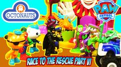 THE OCTONAUTS AND PAW PATROL AND BATMAN ADVENTURE - RACE TO THE RESCUE [...