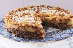 Appel-dadel-noten cake suiker vervangen door kokosbloemsuiker