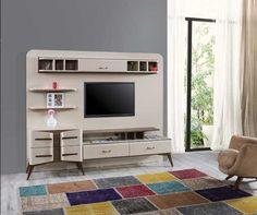Çelmo Tuana Tv Ünitesi Tv Unit Design, Tvs, Home Furniture, Turkey, The Unit, Home Decor, Projects, Entertainment Centers, Homemade Home Decor