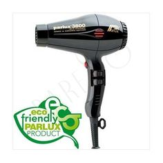 Parlux 3800 Eco Friendly Ionic & Ceramic Edition, Svart 1080kr