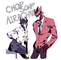 Chopshop and Airachnid.