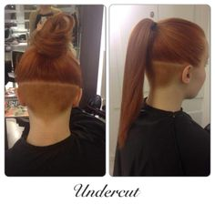 Undercuts/undershaves