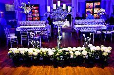 Love this ice bar for a wedding!  #weddingideas #decor #lighting