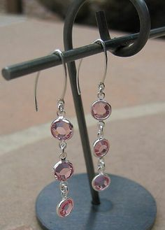 Crystal Earrings for teacher