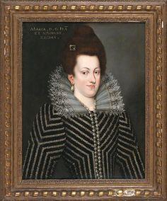 Marie de Medici (1575-1642) By; Italian School, circa 1600 Follower of Scipione Pulzone