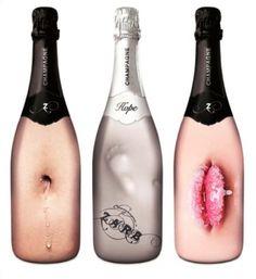 """L'agence de communication hollandaise """"They"""" a baptisée la deuxième collection de sa propre marque de champagne : """"Zarb"""" ! #vin"""